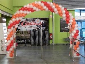 arches ballons decoration pour animation commerciale jmprestations